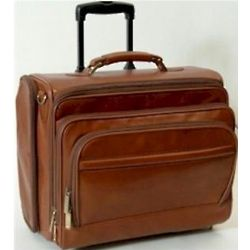 Tuscan Leather Laptop Briefcase