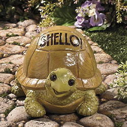 Shello! Turtle Garden Statue
