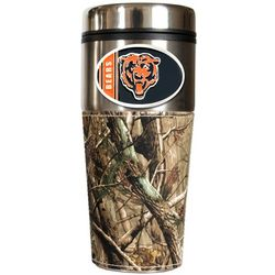 Chicago Bears Travel Tumbler with Camouflage Wrap