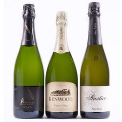 Sparkling Wine Trio Gift Set