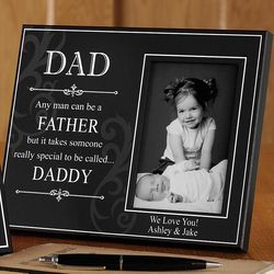 It Takes Someone Special Personalized Dad Frame