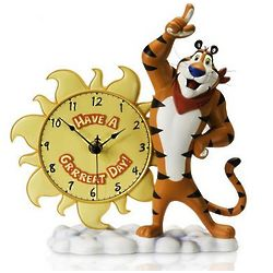 Tony the Tiger Collectors Clock
