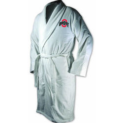 Ohio State Buckeye Terrycloth Logo Bathrobe