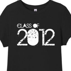Class of 2012 Junior Fit Women's T-Shirt
