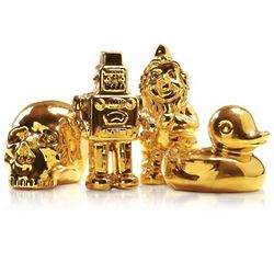 Goldies Gold-Plated Porcelain Statuette