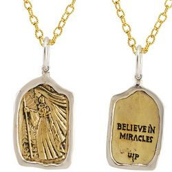 Believe in Miracles Pendant Necklace