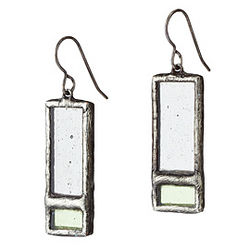 Windowpane Earrings