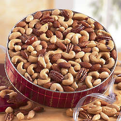 Unsalted Deluxe Mixed Nuts 2-lb. Gift Tin