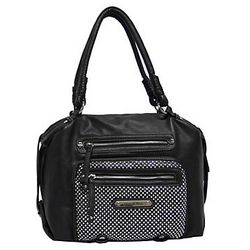 Eye Candy Lamb Satchel Handbag