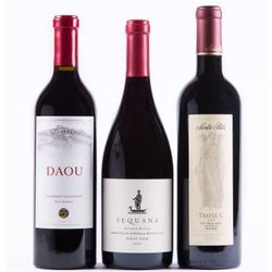 91+ Point Red Wine Gift Trio