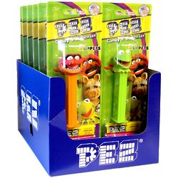 Muppet Pez Dispensers Case