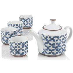 Blue Jasmine Teapot Set
