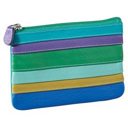 Multi-Stripe Coin Purse
