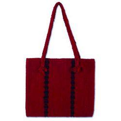 Zapotec Red Wool Handbag