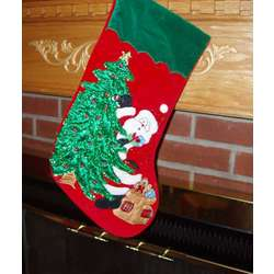 Giant Personalized Christmas Card Holder