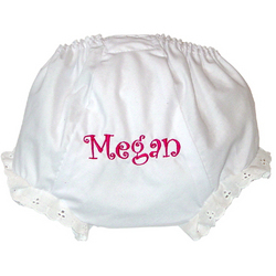 Personalized Baby Panty