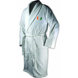 Miami Hurricanes Terrycloth Logo Bathrobe