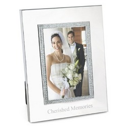 Engraved Glitter Picture Frame