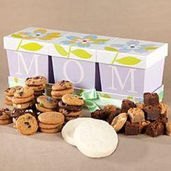 Mrs. Fields Mom Flower Gift Box of Cookies