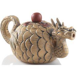 Winter Dragon Yixing Teapot