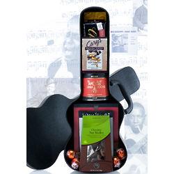 guitar case gift basket. Black Bedroom Furniture Sets. Home Design Ideas