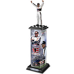 Dale Earnhardt Victory Trophy Sculpture