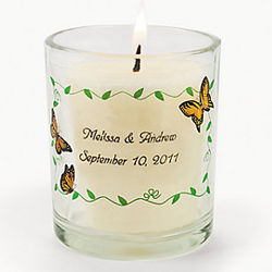 Personalized Butterfly Votive Holders