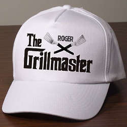 Personalized Grillmaster Hat