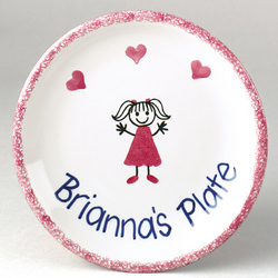 Personalized Children's Plate