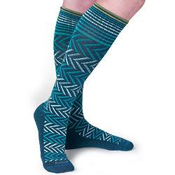Traveler's Chevron Compression Socks