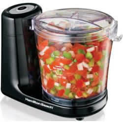 3-Cup Touchpad Food Chopper