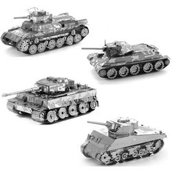 Metal Earth Tanks Models Gift Set