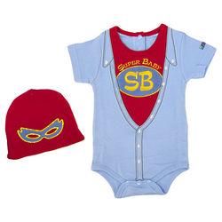 Super Baby Bodysuit and Cap