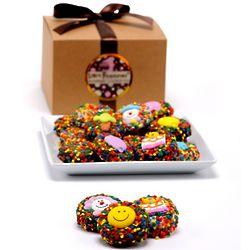 Birthday Belgian Chocolate Gourmet Oreos Gift Box