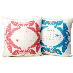 Personalized Birth Calendar Pillow