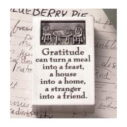Gratitude Paperweight