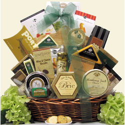 Lasting Impressions Gourmet Cheese Gift Basket