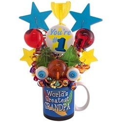 Greatest Grandpa Lolllipop Bouquet