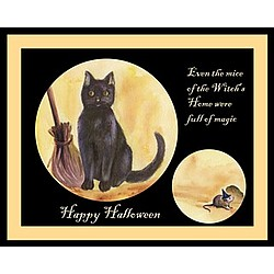 Magic Cat Personalized Fine Art Print