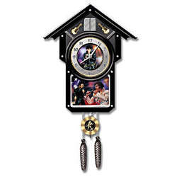 Elvis Presley® Collectible Cuckoo Clock