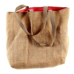 Recycled Burlap Tote Bag