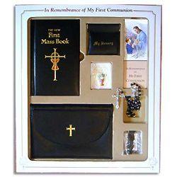 Boy's First Communion Gift Set