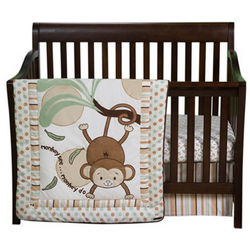 Morgan the Monkey Crib Bedding Set