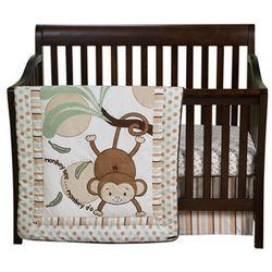 Morgan the Monkey Crib Bedding Set