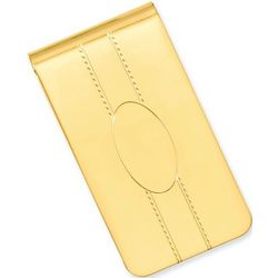 Gold Plated Money Clip