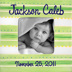Sweet Baby Boy Personalized Photo Frame