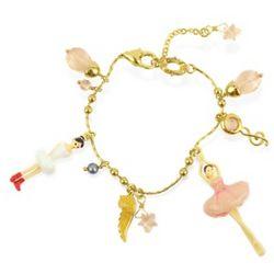 Ballerinas Charm Bracelet