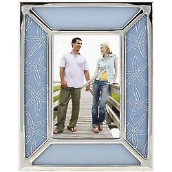Etched Glass Starfish Frame