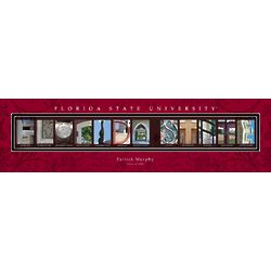 Personalized Florida State University Architecture Print