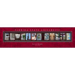 Personalized Florida State University Architecture Print